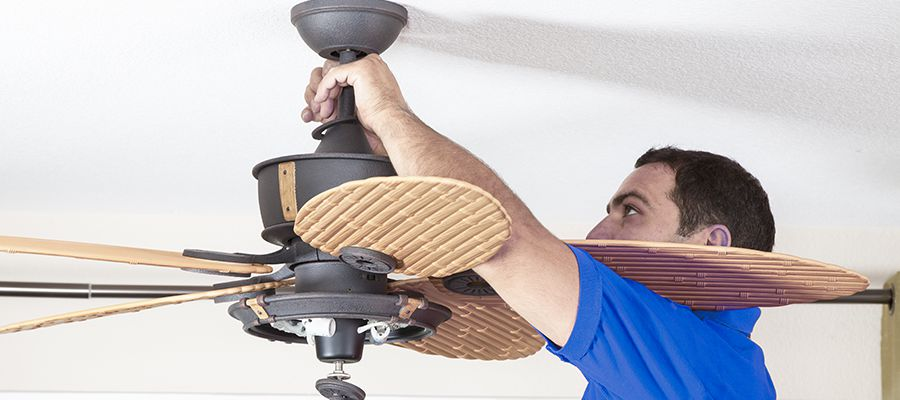 Ceiling Fan Installation in MD, DE, VA, DC