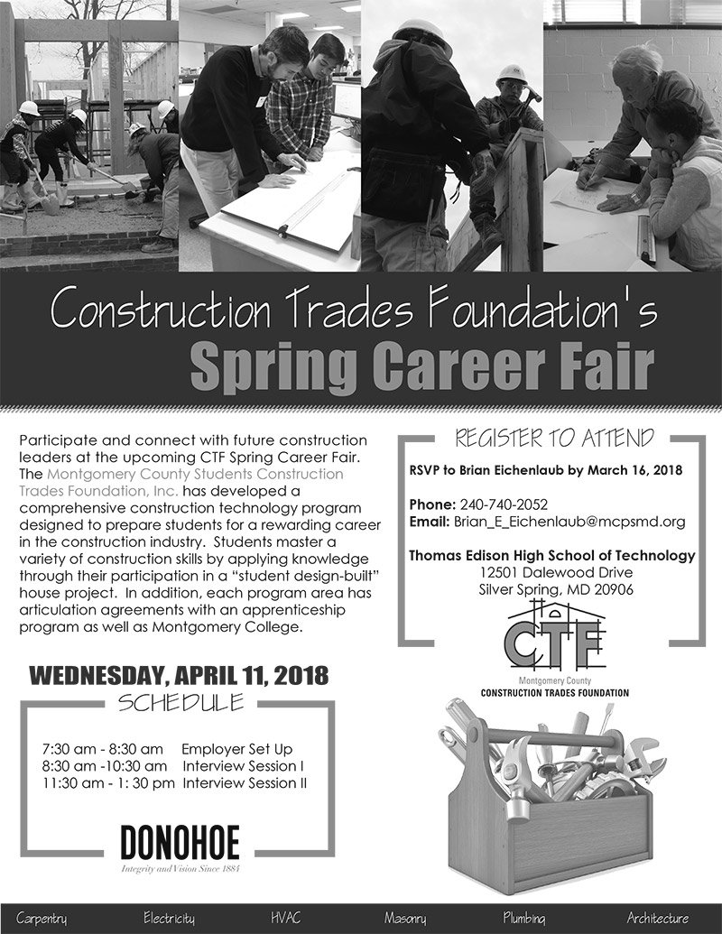 Career Trade Foundation Career Fair