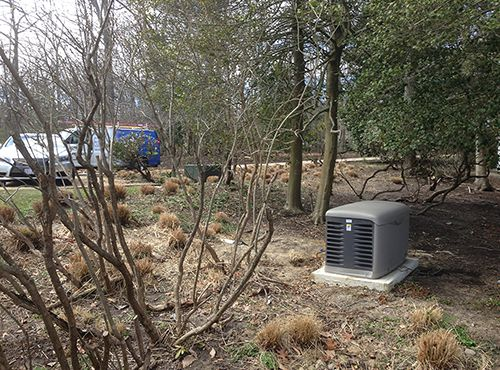 Generator Installation, Southern Anne Arundel County, MD