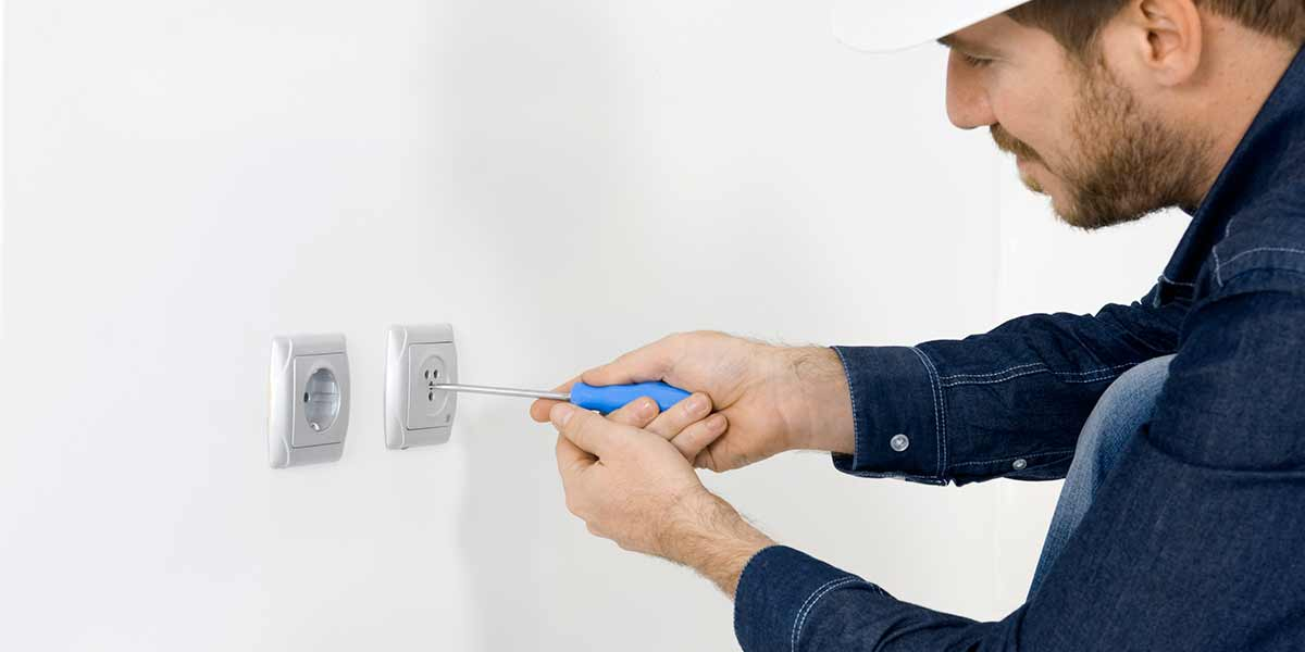 WE LOVE Electrician Service Calls. No job is too small!