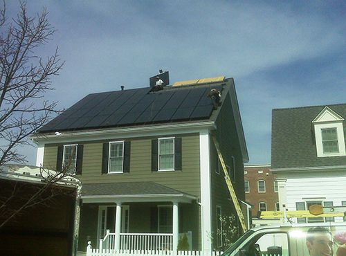 Solar Panel System, Frederick, Maryland