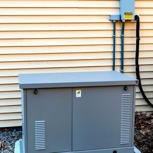 Standby Power Generator Defeats Summer Storms
